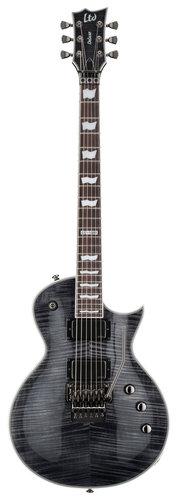 ESP LEC1001FRSTBLK LTD EC-1001FR Electric Guitar, See-Thru Black LEC1001FRSTBLK