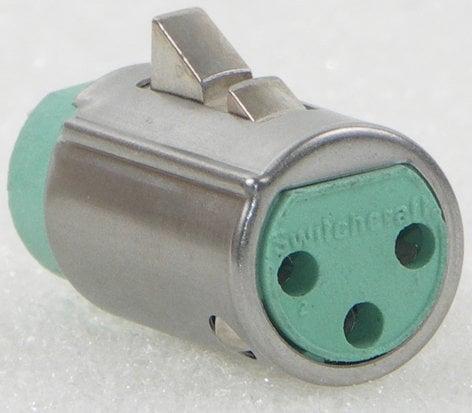 Switchcraft QG4F  QG 4-Pin Female XLR Insert - Standard Latchlock QG4F