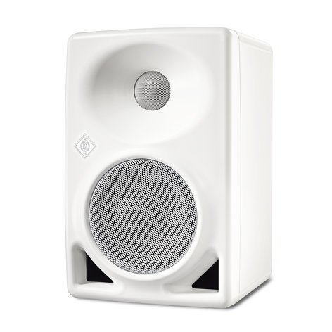 Neumann KH80-WH Active Studio Monitor, 2-Way with DSP, White KH80-WH