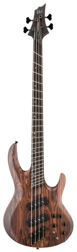 ESP Guitars LTD B-1004SE Multi-Scale Electric Bass Guitar, Natural Satin LB1004SEMSRNS