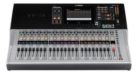 "Yamaha TF3 [B-STOCK MODEL] Digital Mixing Console with 25 Motorized Faders and 24 XLR-1/4"" Combo Inputs TF3-BSTOCK"