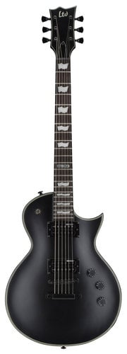ESP Guitars LEC256BLKS LTD EC-256BLKS Electric Guitar, Black Satin LEC256BLKS
