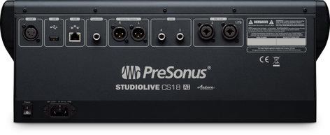 PreSonus StudioLive CS18AI [PROMO] Touch-Sensitive, 18 Moving-Fader Ethernet/AVB Control Surface for StudioLive Rackmount Mixers SLCS18AI-PROMO