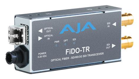 AJA Video Systems Inc FiDO-TR-MM  1-Channel 3G-SDI/LC Multi-Mode LC Fiber Transceiver  FiDO-TR-MM