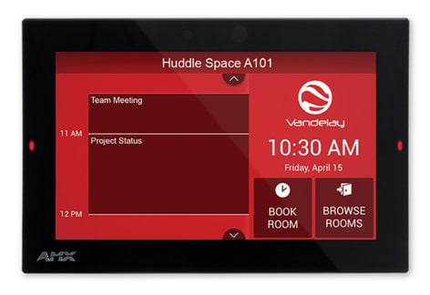 """AMX ACB-2107  7"""" Acendo Book Scheduling Touch Panel ACB-2107"""