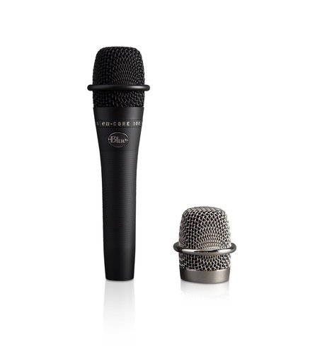 Blue Microphones ENCORE-100-BLACK  Dynamic Handheld Live Performance Mic ENCORE-100-BLACK