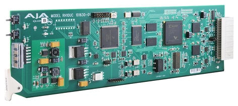 AJA Video Systems Inc RH10UC HD Up-Converter SDI To HD-SDI, Card RH10UC