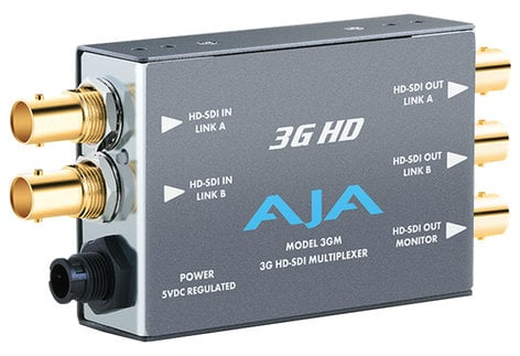 AJA 3GM 3G/1.5G HD-SDI Multiplexer 3GM
