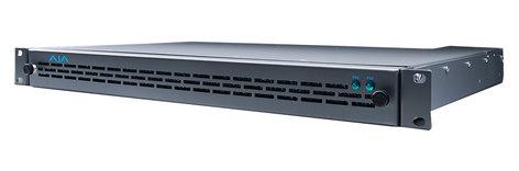 AJA Video Systems Inc FR1D Rackmount Frame for R-Series, 1RU, 4-Slot, 40W, Forced Air Cooling, Dual Power Supplies FR1D