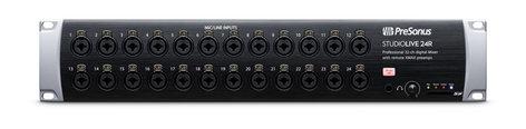 PreSonus STUDIOLIVE-24R StudioLive 24 24-Channel Rackmount Digital Mixer/Stagebox STUDIOLIVE-24R