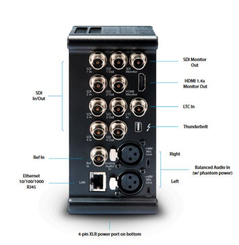 AJA KI-PRO-QUAD Ki Pro Quad Solid State 4K Recorder KI-PRO-QUAD