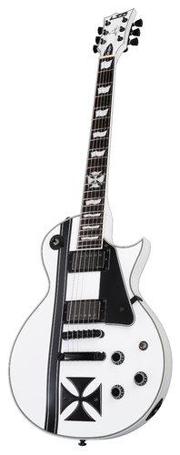 ESP Guitars Iron Cross James Hetfield Model Electric Guitar, Snow White EIRONCROSSSW