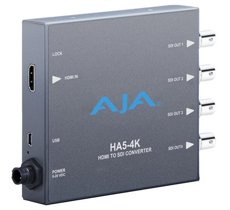 AJA Video Systems Inc HA5-4K HDMI to SDI Converter HA5-4K
