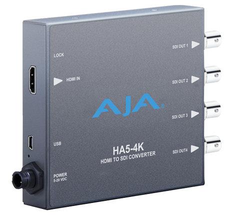 AJA Video Systems Inc HA5-4K HDMI to SDI Converter HA5-4K