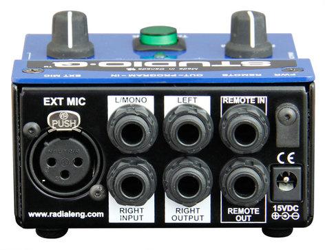Radial Engineering Studio-Q Studio Talkback Interface with External Mic Input STUDIO-Q