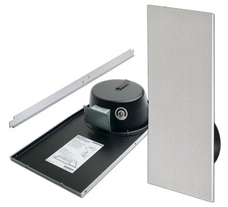 Bogen Communications CSD1X2U Ceiling Speaker, with Bright White Grill CSD1X2U