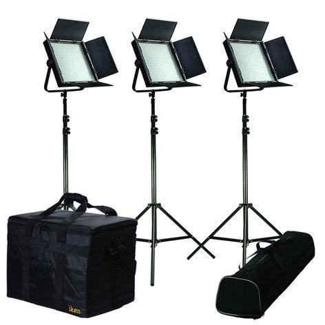 ikan Corporation IFB1024-KIT 3 Light Dual Color Kit with Sony & AB IFB1024-KIT