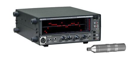 Audio Control SA-3052 Real Time Spectrum Analyzer with Battery & Mic SA3052