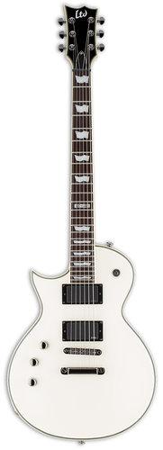 ESP Guitars EC-401 LH Left-Handed Electric Guitar, Olympic White LEC401OWLH