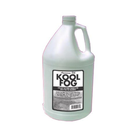 ADJ KOOL-FOG Low-Lying Replacement Fog Juice, 1 Gallon KOOL-FOG
