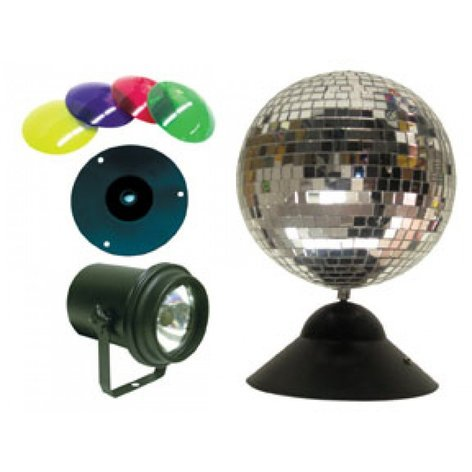 "ADJ MB8-COMBO 8"" Mirror Ball Package MB8-COMBO"
