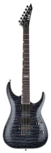 ESP Guitars LTD MH-1001NT Electric Guitar, See-Thru Black LMH1001NTSTBLK
