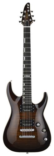 ESP Guitars EIIHORFMNTDBSB E-II Horizon NT 6-String Electric Guitar, Dark Brown Sunburst EIIHORFMNTDBSB