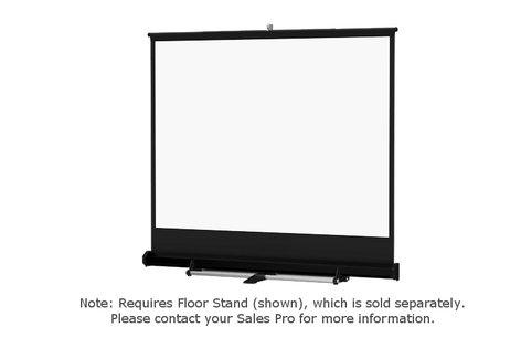 """Da-Lite 40274 Model C 116"""" x 116"""" (Square) Matte White Screen 40274"""
