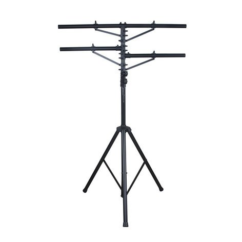 ADJ LTS-1 12 ft Black Tripod Stand with 2 Side Bars LTS-1