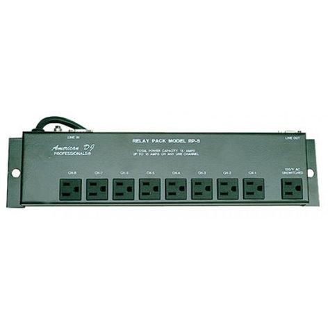 ADJ SRP8 8ChannelRelayPack SRP8 8 Channel Relay Pack SRP8