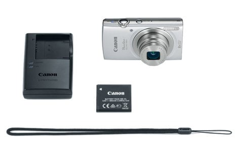 Canon PowerShot ELPH 180 Silver 20MP 8x Optical Zoom Point & Shoot Digital Camera in Silver POWERSHOT-ELPH180