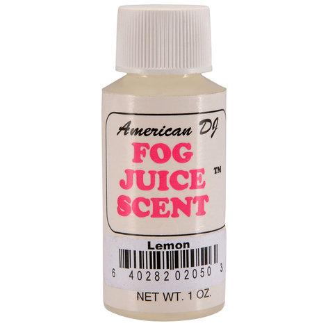 ADJ Lemon Fog Scent 1 oz, F-SCENTS/LEMON