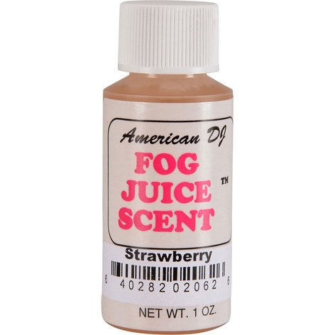 ADJ Strawberry Fog Scent 1 oz, Fog Scent F-SCENTS/STRAWBERRY