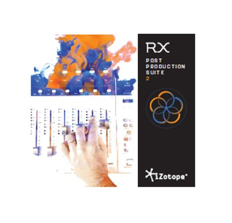 iZotope RX Post Production Suite 2.1 [DOWNLOAD] Professional Quality Audio Repair Software RX-POST-PROD-STE-2.1