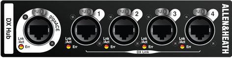 Allen & Heath DX-HUB DX I/O Expander - 4 DX Ports DX-HUB