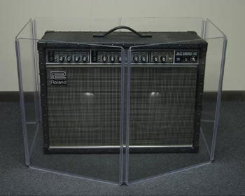 """Clearsonic A1824X4 24"""" x 72"""" 4-Section Clear Acoustic Isolation Panel A1824X4"""