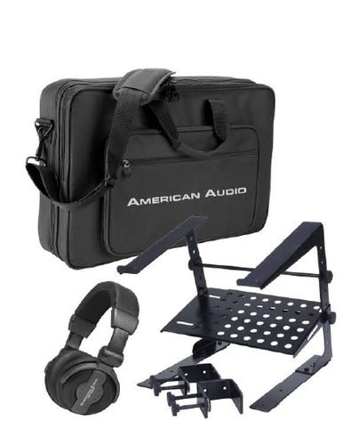 American Audio VMS-PRO-PACK  Headphone, Bag and Stand Pack  VMS-PRO-PACK