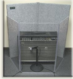 Clearsonic A2436X3 2' x 3' 3-Section Clear Acoustic Isolation Panel A2436X3