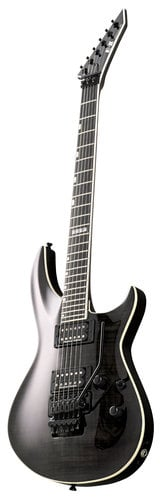ESP Guitars E-II Horizon-III FR Electric Guitar, See-Thru Black EIIHOR3FMFRSTBLK