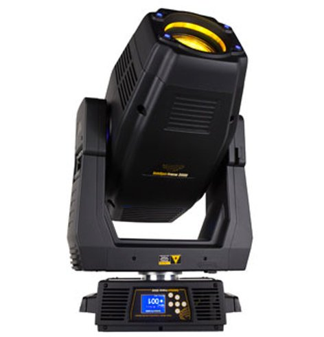 SolaFrame 2000 600 Watt LED Moving Spot Fixture with Road Case by ...