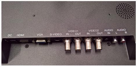 """ToteVision LED-1910HDVBR  19"""" Rack-mount Monitor wtih 1000 Nit Brightness LED-1910HDVBR"""