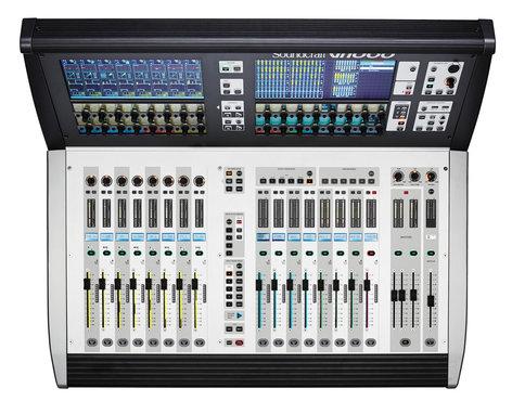 Soundcraft Vi1000 Compact, 96 Channel Digital Mixer VI1000