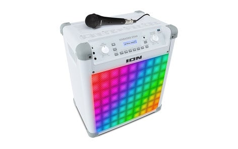 Ion Audio Karaoke Star Karaoke Sound System with Vocal Effects & Sound-Reactive Lights KARAOKE-STAR