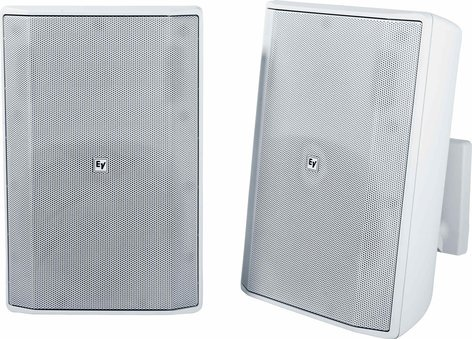 "Electro-Voice EVID-S8.2 8"" 8Ohm IP54 Quick install Speaker Sound in Pairs EVID-S8.2"