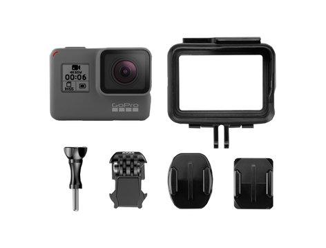 GoPro Inc HERO6 Black 4k30p Action Camera HERO-6-BLACK