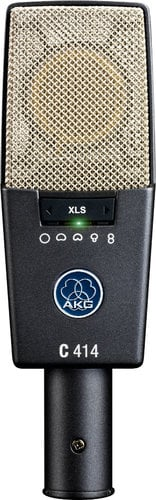 AKG C414 XLS [USED ITEM] Multipattern Large Diaphragm Studio Condenser Microphone C414/XLS-RST-01
