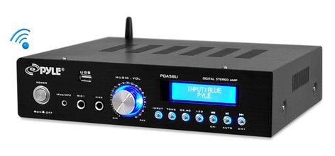 Pyle Pro PDA5BU [RESTOCK ITEM] 200 Watt Bluetooth Stereo Amplifier PDA5BU-RST-01