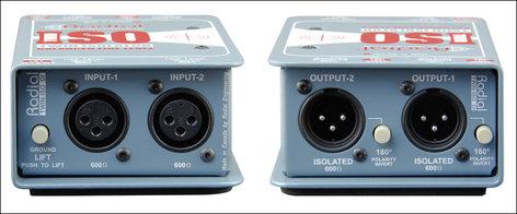 Radial Engineering TWIN-ISO Radial Twin Isolator TWIN-ISO