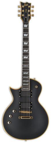ESP Guitars LEC1000VBLKLH LTD EC-1000 LH Left-Handed Electric Guitar, Vintage Black LEC1000VBLKLH