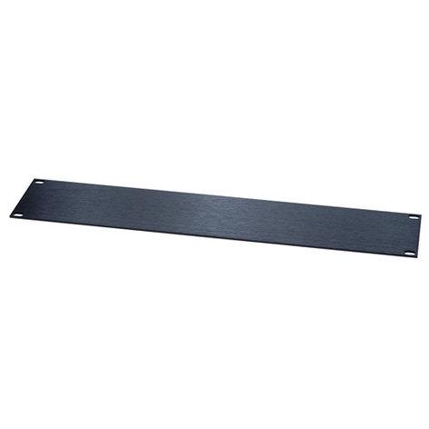"""Chief Manufacturing AFT-1 Black 1sp(1.75"""") 1/8"""" Flat Sluminum Rack Panel AFT-1"""